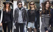 Dàn thiên thần Victoria's Secret 'cực ngầu' với trang phục dạo phố
