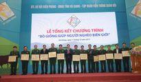 """Chủ tịch nước Trương Tấn Sang dự lễ tổng kết chương trình """"Bò giống giúp người nghèo biên giới"""""""