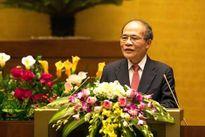 Chủ tịch Quốc hội Nguyễn Sinh Hùng gặp mặt đại biểu Đại hội Tài năng trẻ toàn quốc