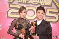 Chung Gia Hân gây sốc khi diện nội y lên nhận giải TVB