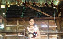 Nữ sinh viên nghỉ học về quê nuôi chim trĩ thu nhập cao