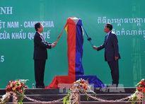 Thủ tướng Việt Nam - Campuchia dự lễ khánh thành cột mốc 30