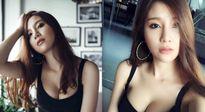 """Hot girl Hạnh Sino hở bạo khi về """"chung nhà"""" với Tuấn Hưng"""