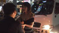 """""""Thánh nữ"""" Maria Ozawa rối rít xin lỗi sau khi gây tai nạn ô tô"""