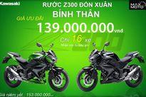 """Kawasaki Việt Nam lại """"chơi chiêu"""" giảm giá sốc Z300"""