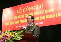 Công bố, trao Quyết định của Chủ tịch nước thăng cấp bậc hàm cấp Tướng CAND năm 2016