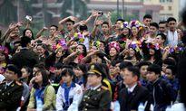 Tuổi trẻ CAND rạng rỡ trong điệu dân vũ