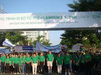 TPHCM: Hơn 14.000 người tham gia đi bộ từ thiện