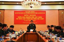 Đẩy nhanh tiến độ xây dựng dự thảo Luật Cảnh sát biển Việt Nam