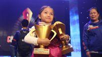 Kỳ thủ nhí Cẩm Hiền giành giải VĐV trẻ xuất sắc nhất năm 2015