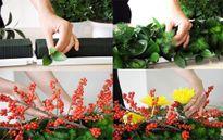 Những cách cắm hoa ngày Tết đẹp mà đơn giản