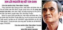 Cơ quan điều tra thụ lý đơn tố cáo của ông Huỳnh Văn Nén