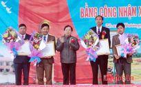 Xã Thanh Dương đón Bằng công nhận xã đạt chuẩn nông thôn mới