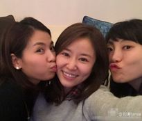 Lâm Tâm Như lộ mặt mộc đón sinh nhật tuổi 40 cùng tri kỉ