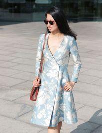 Hoa hậu Trần Thị Quỳnh gợi ý street style thanh lịch ngày Tết