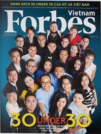"""Hoàng Nam vào tốp """"30 dưới 30"""" của Forbes"""