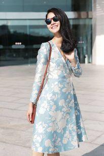 Hoa hậu Trần Thị Quỳnh đẹp dịu dàng những ngày cận Tết