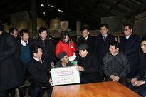 Phó thủ tướng Nguyễn Xuân Phúc thăm đồng bào vùng rét kỷ lục