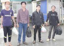 Di lý 4 đối tượng trốn nã nguy hiểm từ phía Nam về Thanh Hóa