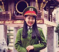 Nữ thủ khoa của Học viện Cảnh sát Nhân dân