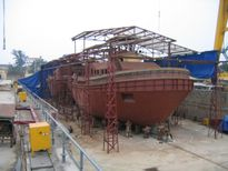Damen mua 70% cổ phần nhà máy đóng tàu Sông Cấm