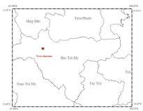 Động đất mạnh 3,7 độ richter ở Quảng Nam