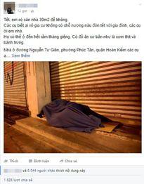 Người phụ nữ dành căn nhà giữa Hà Nội cho người vô gia cư đón Tết