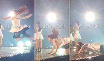 iKON nhái sân khấu trượt ngã 5 lần của G-Friend khiến Kpop fan giận dữ