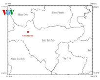 Lại xảy ra động đất mạnh 3,7 độ richter ở thủy điện Sông Tranh 2