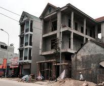 Xử lý công trình trên đất nông nghiệp tại Thạch Xá (huyện Thạch Thất): Không kịp thời