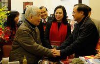 Lãnh đạo TP Hà Nội chúc Tết các đồng chí nguyên lãnh đạo Đảng, Nhà nước