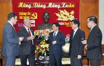Tổng lãnh sự Nga và Tổng lãnh sự Lào chúc Tết lãnh đạo TP Đà Nẵng