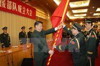 Trung Quốc cơ cấu lại quân đội để tăng sức mạnh