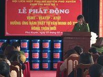 CAH Phú Xuyên chung tay vì môi trường an toàn, xanh sạch đẹp