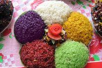 Xôi ngũ sắc – món ăn đậm nét văn hóa của dân tộc Tày