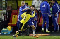 Hiddink tố Costa bị hậu vệ Watford đánh trước