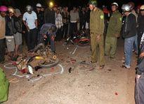 Xe máy tông nhau, 2 người tử vong tại chỗ