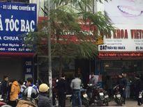 Truy bắt 2 tên cướp cầm dao xông vào ngân hàng Agribank