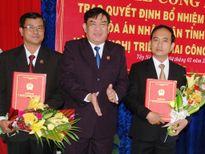 Bổ nhiệm 2 Phó Chánh án TAND tỉnh Tây Ninh