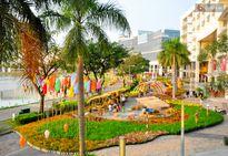 Khung cảnh làng quê bình dị khắp 3 miền được tái hiện ở phố nhà giàu Sài Gòn