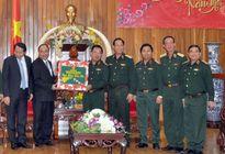 Phó Thủ tướng Nguyễn Xuân Phúc thăm, chúc Tết Bộ Tư lệnh Quân khu 5