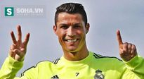 Ronaldo ăn mừng gây sốt ngày sinh nhật
