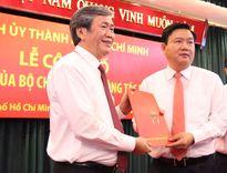 Ông Đinh La Thăng được phân công làm Bí thư Thành ủy Tp.HCM