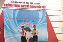 Dân Sài Gòn hết sợ trộm nhờ khóa smartphone của học sinh cấp 3