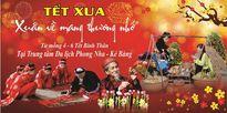Hội chợ 'Xuân về mang thương nhớ' tại Phong Nha Kẻ Bảng