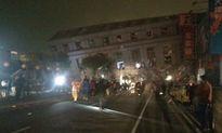 Nhiều tòa nhà sụp đổ trong động đất 6,4 độ richter tại Đài Loan