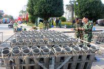 31 trận địa pháo hoa ở Thủ đô sẵn sàng chào Xuân mới