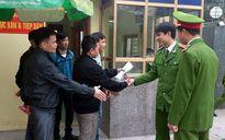 Giảm án tha tù trước thời hạn hơn 1.600 phạm nhân dịp Tết