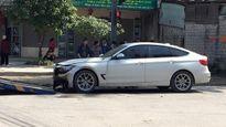 BMW 328i bất ngờ cháy đen ở Hà Tĩnh sáng mùng 1 Tết