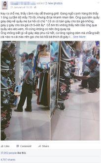Cụ ông mua giày cho vợ - Hạnh phúc đến từ điều nhỏ nhặt